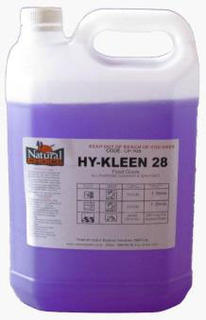 Hy Kleen 28 Sanitiser (no smell) - 5ltr - Natural Choice