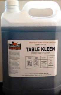 Wooden Table Cleaner - 5ltr - Natural Choice
