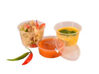 Portion Pot Lid fits 0.5-1oz pots - Vegeware