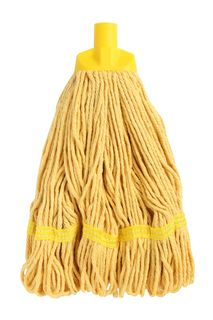 Edco Durable Round Mop YELLOW - Edco