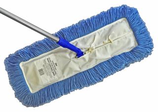 Edco Dust Control Mop Small (30X10cm) Complete With Head And Handle - Edco