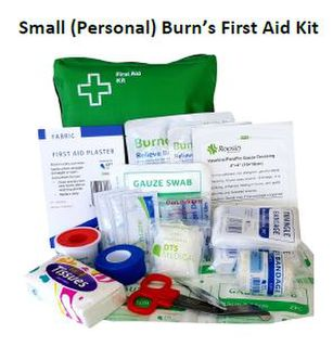 Small Personal Burn's First Aid Kit SOFT PACK