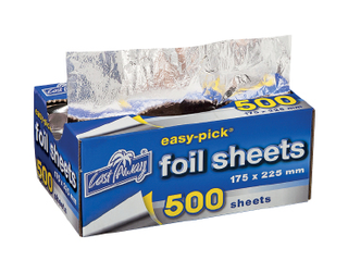 Easy-Pick' Heavy Duty Cut Foil Sheets Small 175x225mm