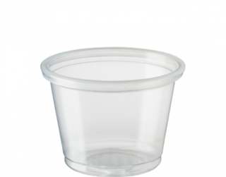 Small Portion Control Cups 30 ml, Clear - Castaway