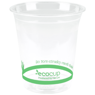 200ml Clear Cold Cup PLA - Ecoware