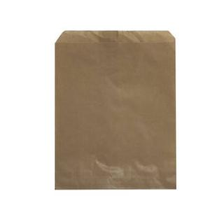 Flat Brown Paper Bags - No.1 - UniPak