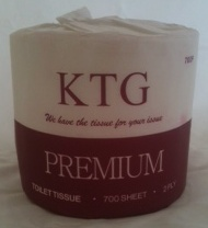 Toilet Rolls 2ply - 700sheet - Kiwi Tissue