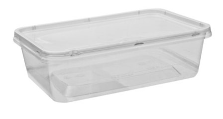 Rectangle Container Bases & Lids 1000ml - Uni-Chef