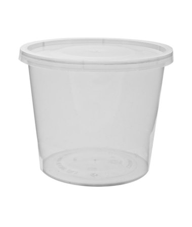 Lid Round for 2oz/50ml Container - Uni-Chef