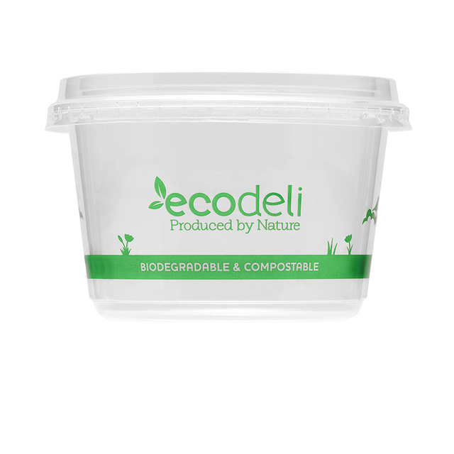 Deli Containers 360ml Pla Ecoware Db 360 Shopping