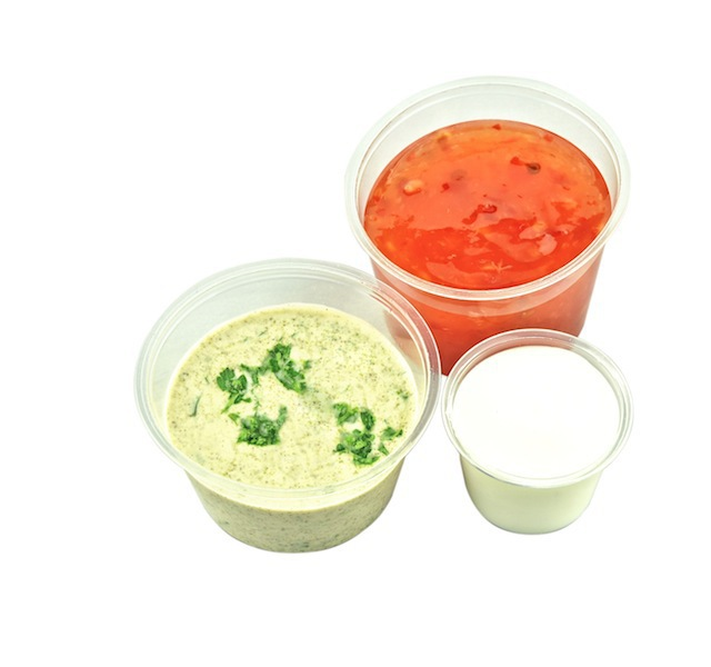 Portion Pot PLA 1oz (30ml) - Vegware