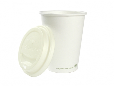 Hot Cup PLA Lined 16oz (520ml) white - Vegware