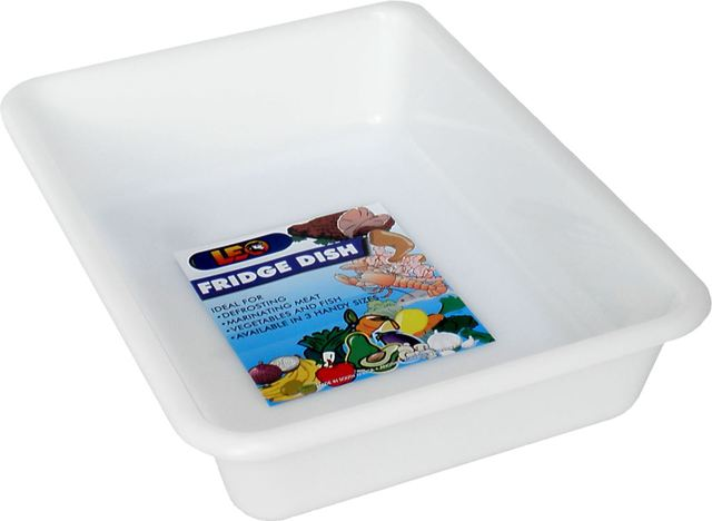 Fridge Dish Plastic 4Ltr