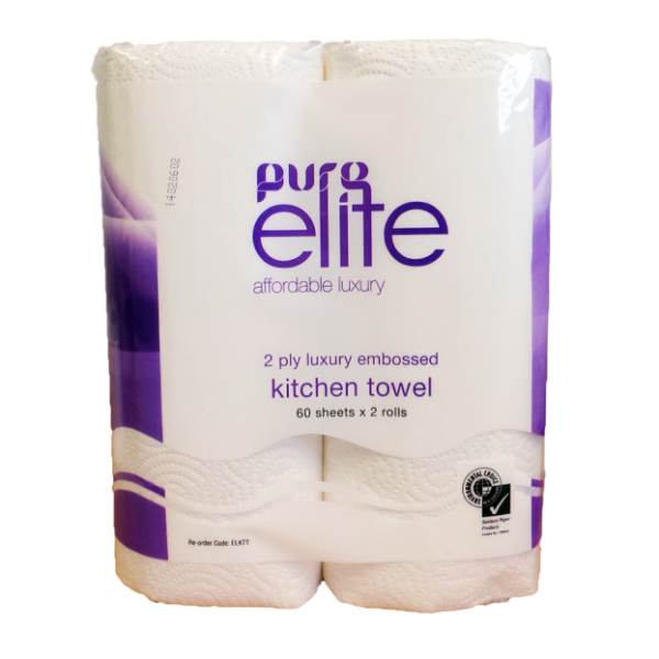 Kitchen Towel 60 sheets - Twin Pack - PURElite
