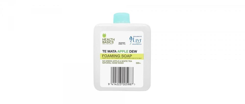 Te Mata Apple Dew Foaming Soap 500ml - Livi 'Health Basics'