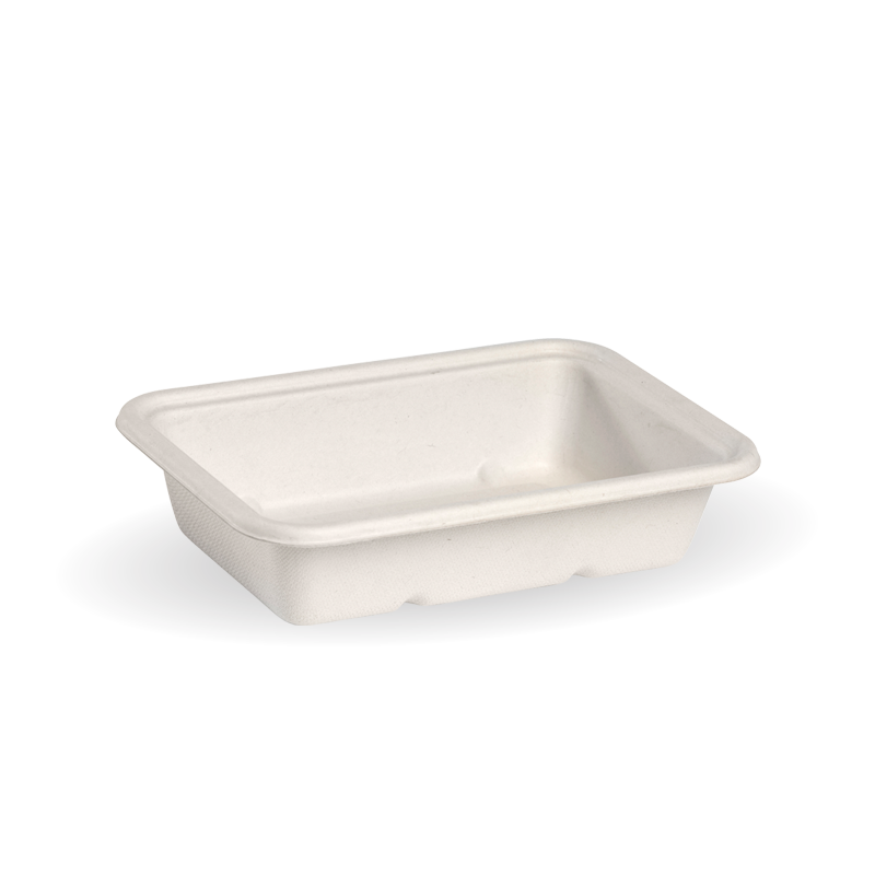 Takeaway Container Base White 500ml BioCane - BioPak