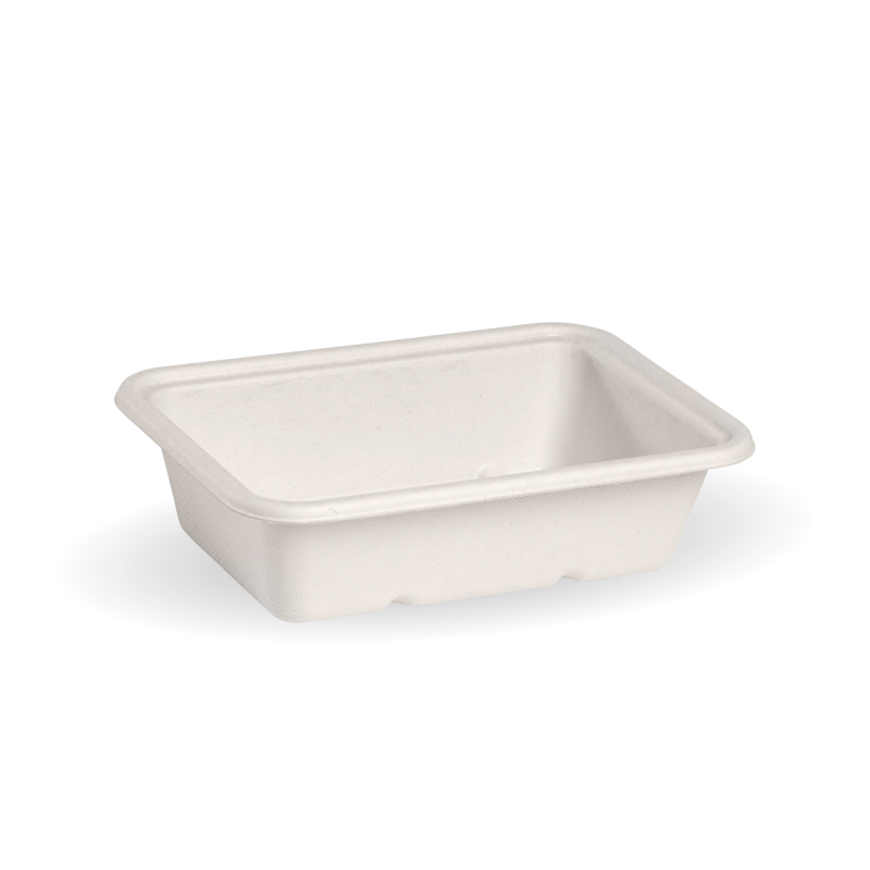 Takeaway Container Base White 600ml BioCane - BioPak