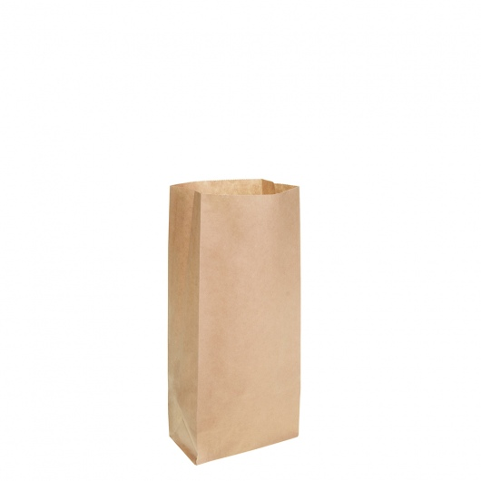 Brown Block Bottom Paper Bag No 0 Heavy Duty - UniPak