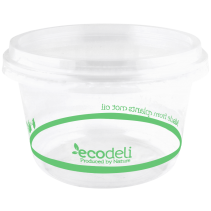 Deli Containers 240ml PLA - Ecoware
