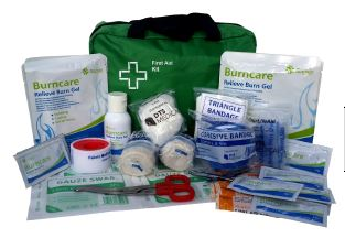 Medium Commercial Burn's First Aid Kit SOFT PACK