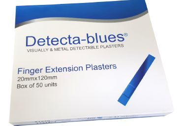 Large Finger Extension Plasters, Box of 50 units