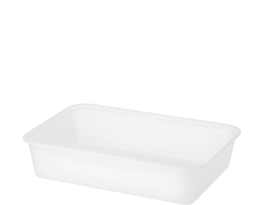 FreezaReady' Rectangular Containers, Small 500 ml, Translucent - Castaway