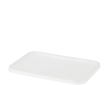 FreezaReady' Rectangular Containers Lids - One Lid Fits All, Translucent - Castaway