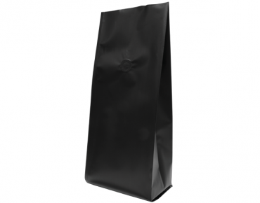 1kg Side Gusset Coffee Bag, Matte Black - Castaway
