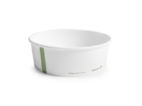 Hot Container white PLA-lined 32oz 18.5cm - Vegware - Pack & Carton