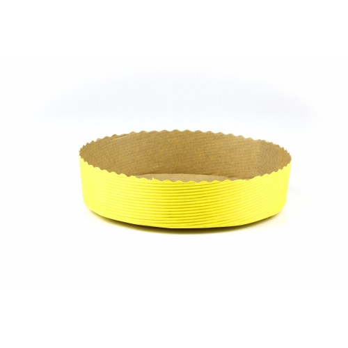 Medium Round Torte- Yellow - Confoil