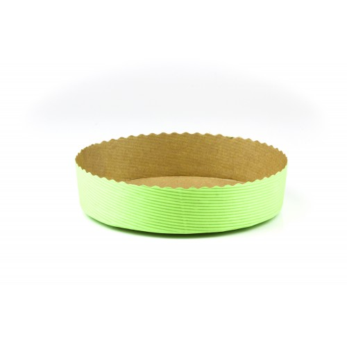 Medium Round Torte- Green - Confoil