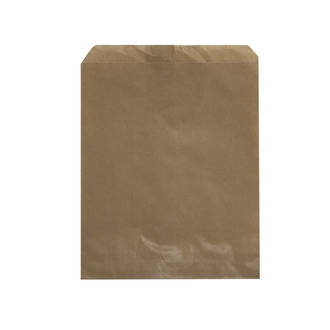 Flat Brown Paper Bags - No.7 - UniPak